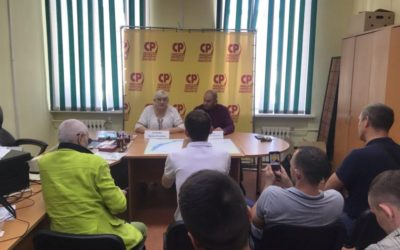 «Пенсионную псевдореформу – на свалку истории» – Всероссийская пресс-конференция по вопросу пенсионной реформы в Иркутской области