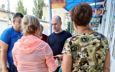 Николай Стариков провёл рабочие встречи в Керчи