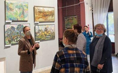 Ирина Зайцева организовала бесплатное посещение музея для общественников города
