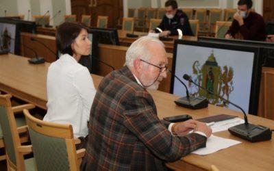 Александр Кривов принял участие в совещании городской Думы Рязани