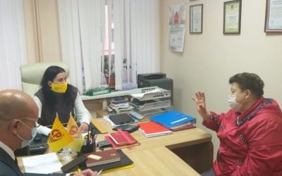 Татьяна Гриневич провела депутатский прием граждан в Нижегородской области